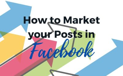 How to Market your Posts in FB